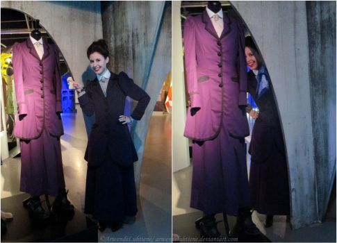 Missy with Missy at the Doctor Who Experience III by ArwendeLuhtiene