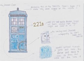 WhoLock Door by thevoiceofmanyfaces