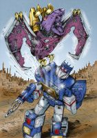 Transformers G1: Ratbat eject! by Clu-art