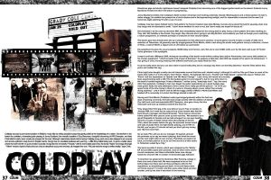 magazine layout by noheroinhersky