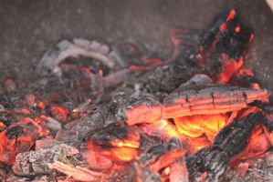 00070 - Burning Wood Embers by emstock