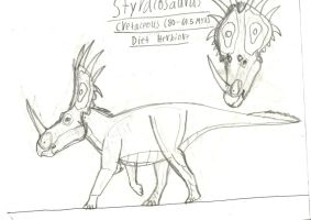 Styracosaurus by TeamArtists
