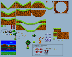 Green Grove Zone Remastered by TheGoku7729