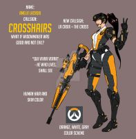 Overwatch Fan Skin: Crosshairs by effektdmentality