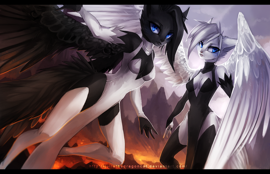 .: Angels On Fire :. by JuliaTheDragonCat