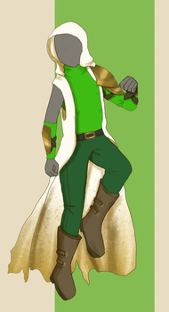 Uriel's Outfit - COMISSION by Flame-Bloom