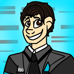 My Name is Connor! by InspiredByArt321