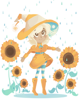 Witch of April Showers by fr00tsnak