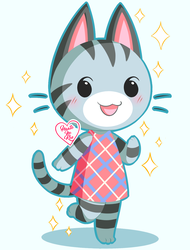 Animal Crossing New Leaf: Lolly ~ by Haato-No-Koe