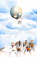 The Skull Balloon by Renca-W