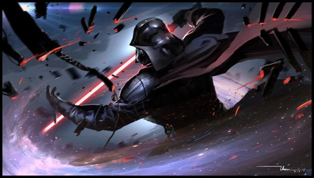 Darth Vader by thiennh2