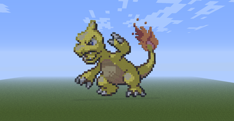 Minecraft- Shiny Charmeleon by Sinfulcraft