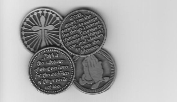 Faith Coins by Royce-Barber