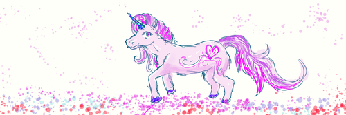Unicorn for Naomi Grace by Magnet-Rose