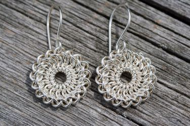 Sterling Eye Earrings by cshake