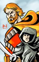 Fafhrd and the Gray Mouser by IanJMiller