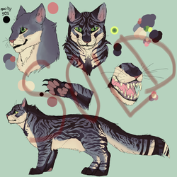 Tabby Adoption SOLD by Endercat360