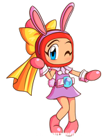 Akabon Bunny New dress by SailorBomber