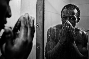 An African  Immigrant in Istanbul by erhanarik