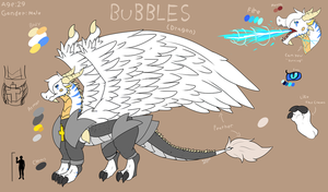 Bubbles (Dragon Original Characters) by FanDragonBrigitha