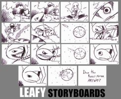 Leafy Storyboards by LainDragon