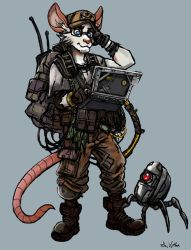 Seth - Hacker Rat by TheLivingShadow