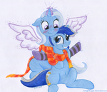 Blue Unicorns Forever by TwilightFlopple