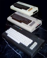 Commodore Computers by 0-raffie-0