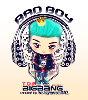 BAD BOY - T.O.P by babymoon321