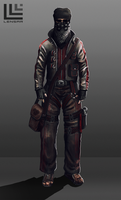 Concept game character by Lensar