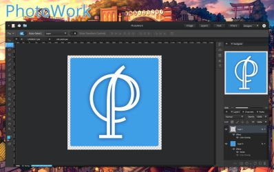 PhotoWork app for elementary OS mockup version 2 by 13iangel
