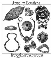 Assorted Jewelry Brushes by froggiesresources