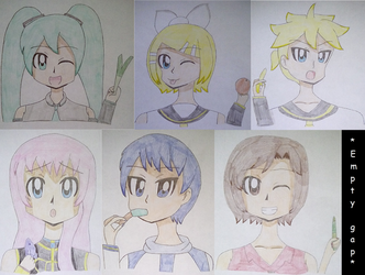 90s Vocaloids by Yoshi-the-Psycho