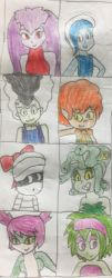 School Ghouls by Screaming-Sheldon