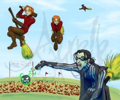 Quidditch Referee by Murielle