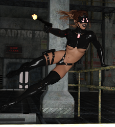 Spider Princess Angela Live Fire Training by 666markofthebeast666