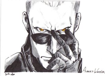 Albert Wesker by residentevilrulz