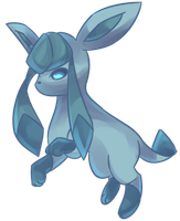 Glacia | Glaceon Commission by AutobotTesla