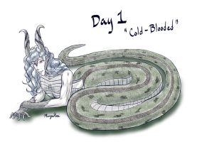 Day 1 - Cold Blooded by MangaKeri