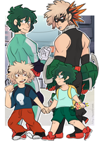 .: Heroes (BNHA) :. by silly-sweetness