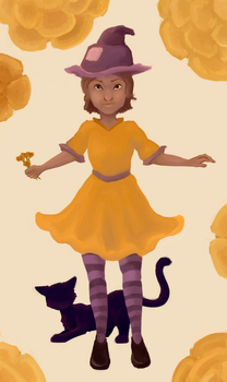 The Little Marigold Witch by NamirHunting