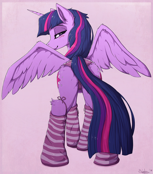 Twi, Socks and Undies by Blackkaries