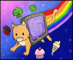 :: Talia's Nyan Cat :: by blumarine