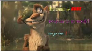 the name is buck - ice age 3 by whitedragonguardian