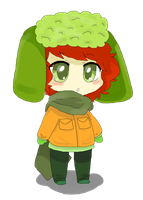 Kyle Broflovski by fishinyourface