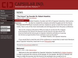 Capsular Industries Site Ver 1 by CTCorbett