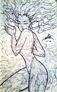 Water Woman by Witchborg