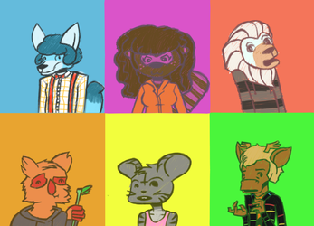 Critter People by Psykeout