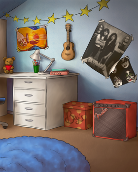 Bey's old room by Saulycia