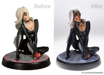 Blackcat (Sideshow) Commissioned Repaint by dianahase